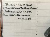 Cassette: Electribe 101 John Peel Session (BBC) 26.10.1989 photo