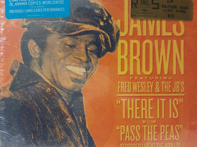 There It Is (Live)/Pass The Peas (Live) - James Brown ft. Fred Wesley & The JB's main photo