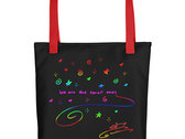 We Are The Small Ones Tote Bag photo
