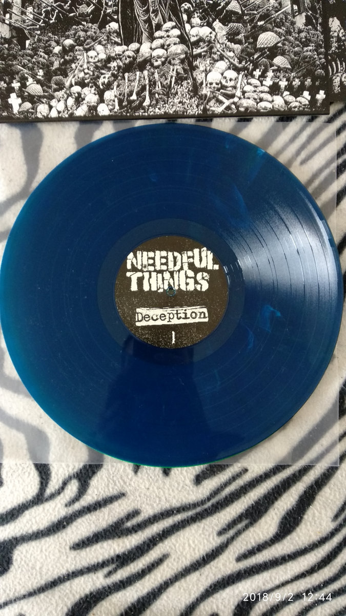Includes unlimited streaming of PSYCHO 050_NEEDFUL THINGS - Deception - 12  LP via the free Bandcamp app, plus high-quality download in MP3, ...