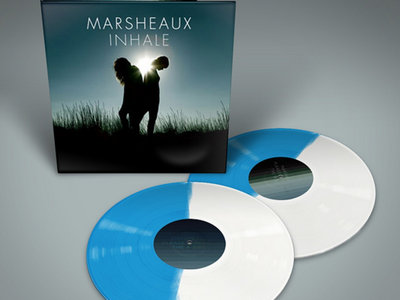 MARSHEAUX: Inhale 2LP Half-Half Effect VINYL main photo
