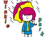 "Twinkle Park ""Rain Ready"" Sticker photo"