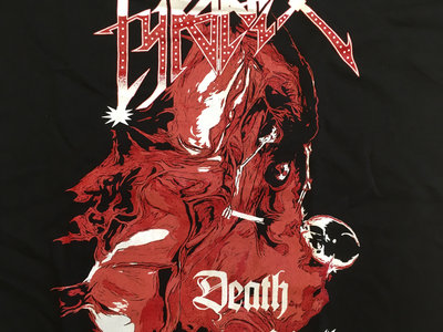Death Roll T-shirt red main photo