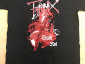 Death Roll T-shirt red photo