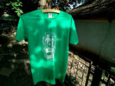 "Green DIY  ""Fuc the borders"" T-shirt photo"