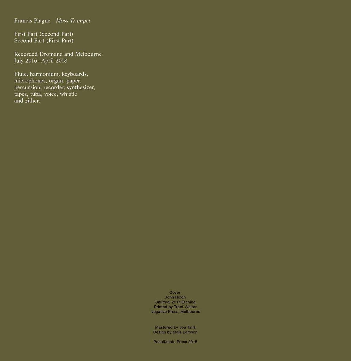 Moss Trumpet | Penultimate Press