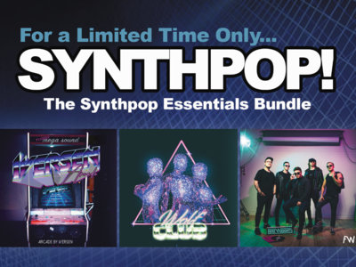 TimeSlave Synthpop Vinyl Bundle (15 available) main photo