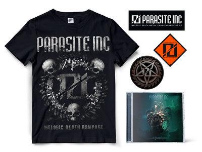 """Bundle CD + T-Shirt """"Parasite Inc"""" main photo"""