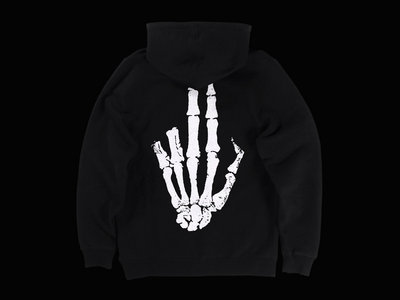 Butterz Glow in the Dark Gunfinger Hoodie main photo