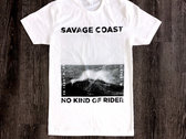 Savage Coast T-Shirt (White) photo