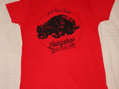 "T-shirt ""Black Buffalo"" rouge - Homme (small) main photo"