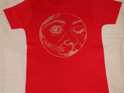 "T-shirt ""Livingstone"" rouge - Femme (small) main photo"