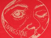 "T-shirt ""Livingstone"" rouge - Femme (small) photo"