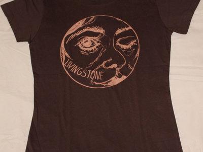 "T-shirt ""Livingstone"" marron - Femme main photo"