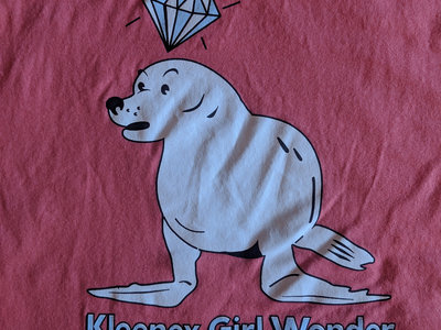 "Kleenex Girl Wonder ""Sea Dog"" T-shirt main photo"