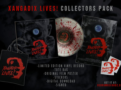 XANGADIX LIVES! limited edition collectors pack main photo