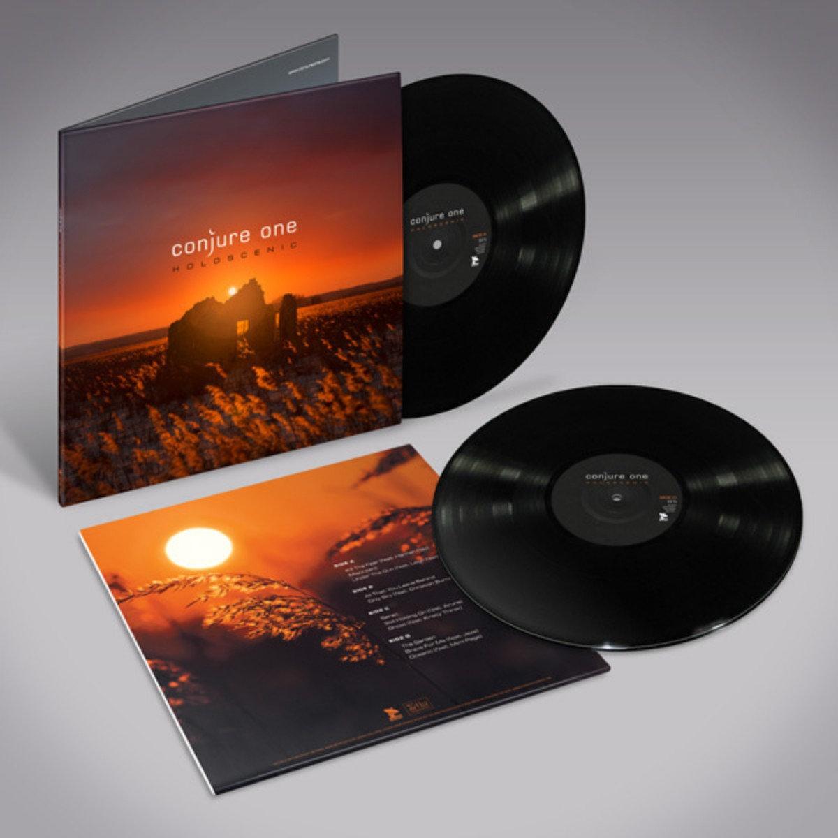 conjure one holoscenic 2lp vinyl artoffact records