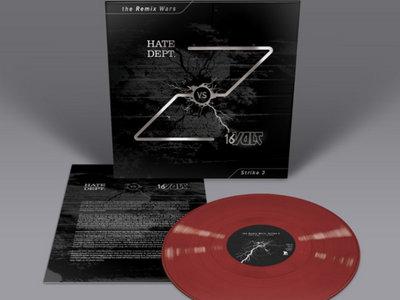 16 VOLT VS HATE DEPT: The Remix Wars Strike 3 Vinyl main photo