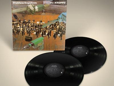 DIE KRUPPS: Stahlwerksynfonie 2LP Vinyl main photo
