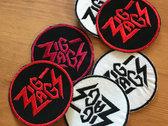 """Zig Zags """"Logo"""" Patch photo"""
