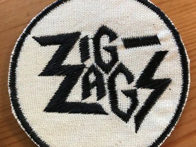 "Zig Zags ""Logo"" Patch main photo"