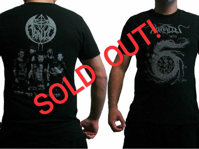 """SIX"" album T shirt Gray version ## SOLD OUT ## main photo"