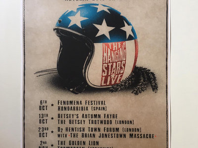 Autumn '18 Tour poster by Edgar Madhook main photo