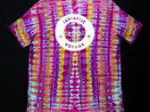 FV x Living Sedated Tie Dye - Rasberry Striped (XL) photo