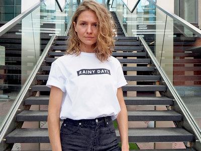 'RAINY DAYS' White T-Shirt main photo