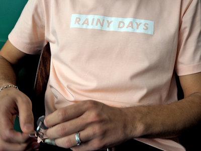'RAINY DAYS' Peach T-Shirt main photo