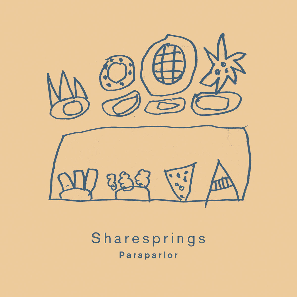 PZL147: Sharesprings - Paraparlor | Jigsaw Records