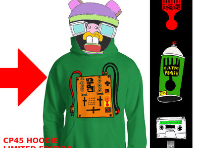 CP45 DJ Mixer Hoodie (Green Only) main photo
