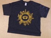 Mungo's Hi Fi - Glasgow Skyline Sphere T shirt photo