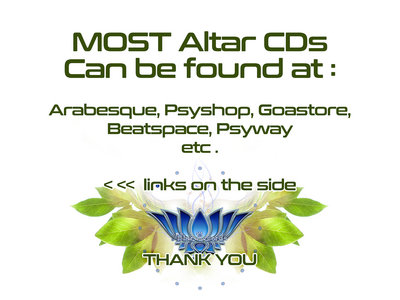 Altar Records CD catalog is available to music retailers worldwide main photo