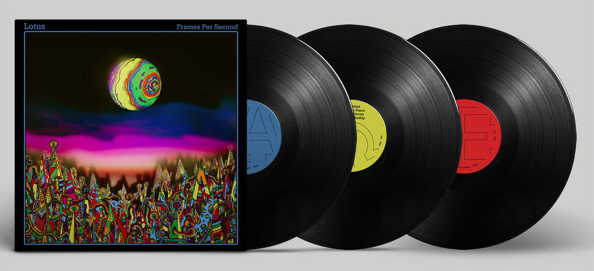 87561b968496 3-LP vinyl set in wide-spine tri-fold jacket. Includes video album from  Vimeo (code will be emailed) Includes unlimited streaming of Frames Per  Second via ...