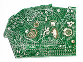 Fort Processor PCB version 1 - Green photo