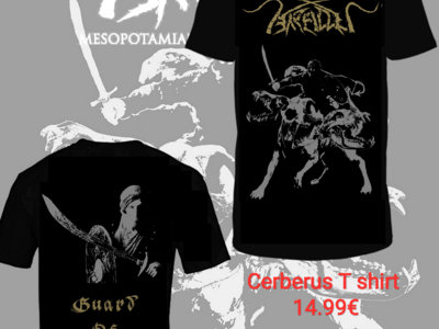 """Cerberus - Guard of Sheol""  2019 T shirt/Singlet main photo"