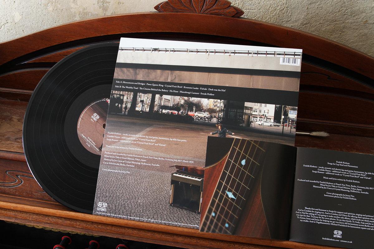 Songs For Lap Steel And Harmonium | Fredrik Kinbom