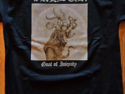Goat of Iniquity cover art shirt main photo