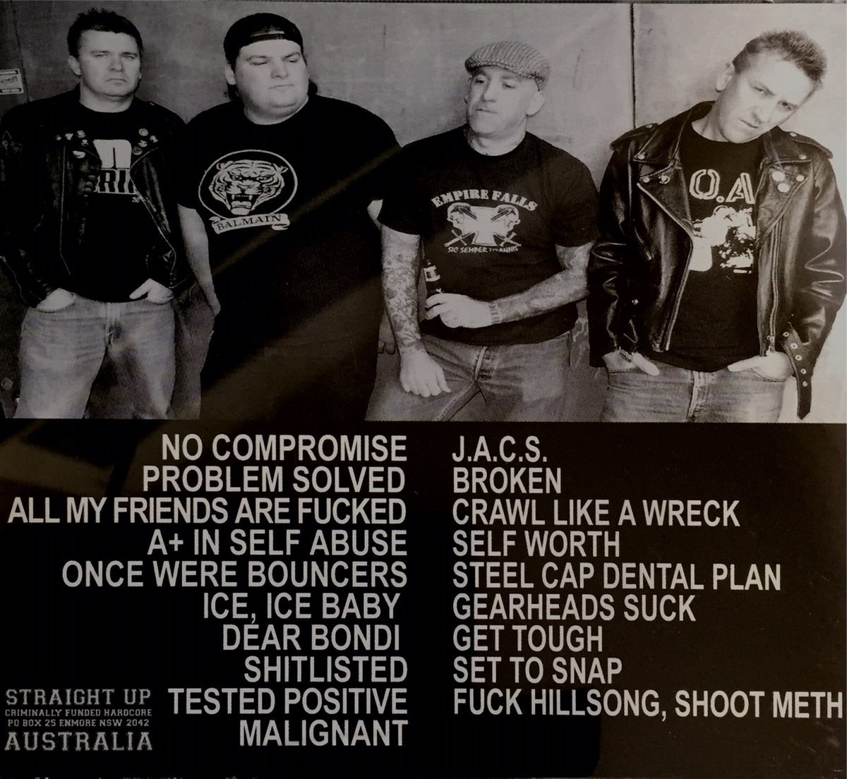 There only full length recorded. Brutal angry, pissed off fast hardcore  from this Sydney band. members played in other bands such as TOE TO TOE and  the ...
