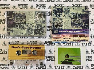 Bored Tapes x DGHD – Gold Leather main photo