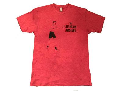 "Bantam Breaks ""Bantam Weight"" Boxer T-Shirt (Scarlet Red) main photo"