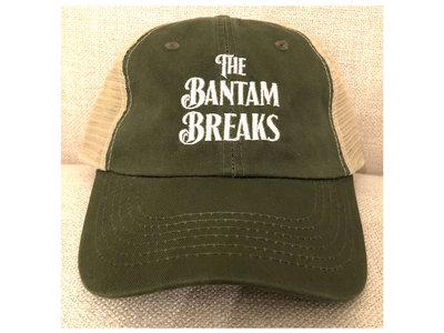 Bantam Breaks Logo Trucker Hat in Green/Natural main photo