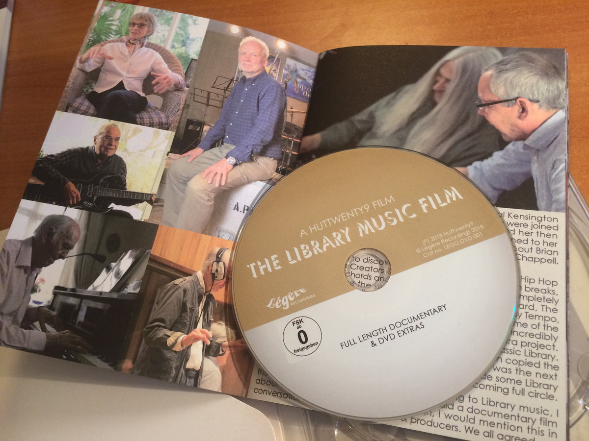 The Library Music Film DVD (PAL) | The Library Music Film