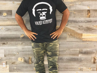 Kong Squad TShirt (S/M only): BLACK   WARM GREY   INDIGO BLUE main photo