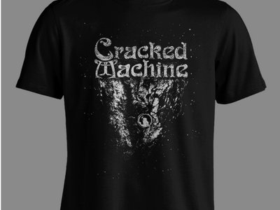 Cracked Machine - I, Cosmonaut T Shirt - Black & White main photo