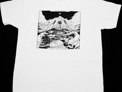'Weight of the World' T-shirt - White main photo