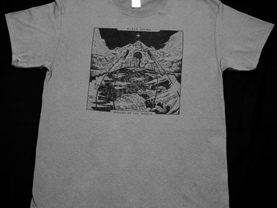 'Weight of the World' T-Shirt - Grey main photo
