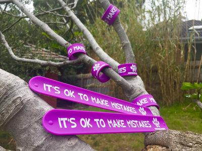 Purple Slap Band - It's OK to Make Mistakes main photo