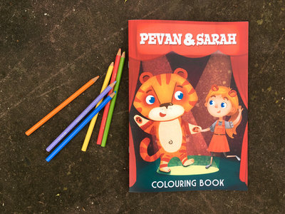 P&S Colouring Book main photo